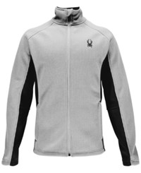 Spyder Constant Zip Performance Sweater Grey