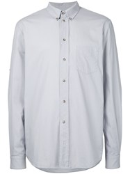 Bassike Washed Classic Shirt Grey