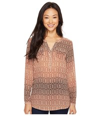 Ariat Willa Top Print Women's Clothing Multi