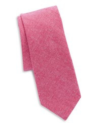 Original Penguin Textured Cotton Tie Pink