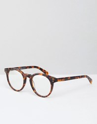 Marc By Marc Jacobs Clear Lens Glasses Brown Tort