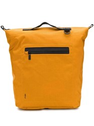 Ally Capellino Hoy Travel Cycle Backpack Orange