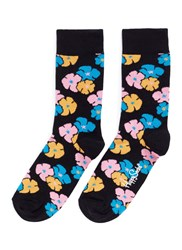 Happy Socks 'Kimono' Floral Multi Colour