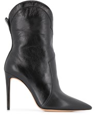 Alexandre Birman Rounded Top Ankle Boots 60