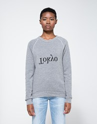 Assembly New York Tokyo City Sweatshirt Heather Grey