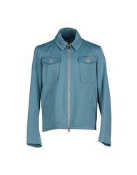 Historic Coats And Jackets Jackets Men Turquoise