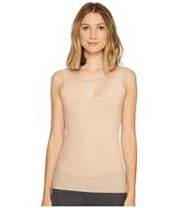 Commando Whisper Weight Tank Wt05 True Nude Sleeveless Beige
