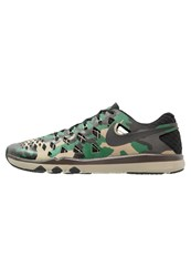 Nike Performance Train Speed 4 Sports Shoes Black Gorge Green Baroque Brown Bamboo