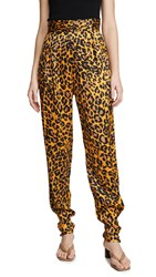 Torn By Ronny Kobo Emanuela Pants Leopard Gold Multi