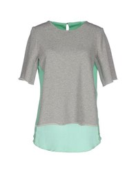 Roberto Collina Topwear Sweatshirts Women Light Grey