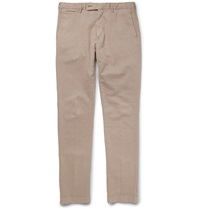 Hackett Mayfair Slim Fit Cotton Blend Twill Trousers Unknown