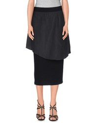Kai Aakmann Kai Aakmann Skirts 3 4 Length Skirts Women Black