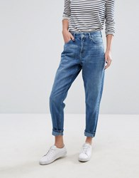 Only Mom Jeans Blue