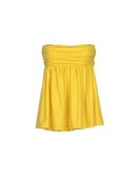 Manila Grace Tube Tops Yellow
