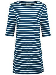 Seasalt Sailor Tunic Dress Breton Galley Ecru