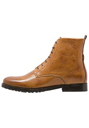 Royal Republiq Nano Laceup Boots Tan