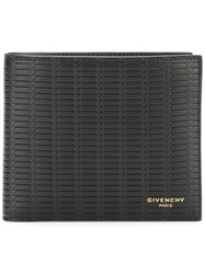 Givenchy Braided Billfold Wallet Black