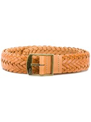A.P.C. Woven Belt Nude And Neutrals