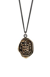 Women's Pyrrha 'Love Conquers All' Talisman Pendant Necklace Bronze