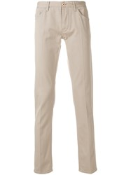 Pt05 Straight Fit Trousers Nude And Neutrals
