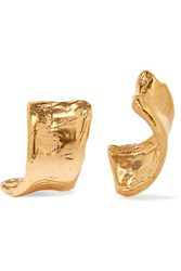 Alighieri The Cryptic Dancer Gold Plated Earrings One Size