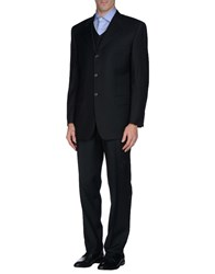 Massacri Suits And Jackets Suits Men Steel Grey