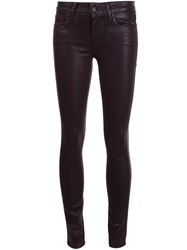 Paige Skinny Jeans Red
