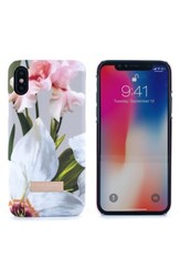 Ted Baker London Sid Chatsworth Bloom Iphone X Case Grey