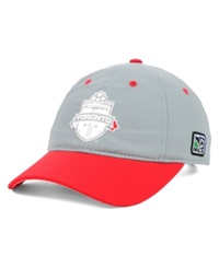Adidas Toronto Fc Mls 2014 Coaches Slouch Cap Gray Red