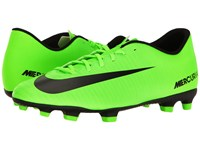 Nike Mercurial Vortex Iii Fg Electric Green Black Flash Lime White Men's Soccer Shoes