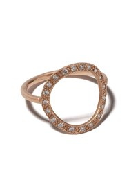 Brooke Gregson 14Kt Rose Gold Diamond Infinity Ring