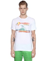 Dsquared Slim Fit Summer Cotton Jersey T Shirt