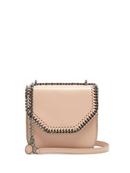 Stella Mccartney Falabella Tiny Faux Leather Cross Body Box Bag Light Pink