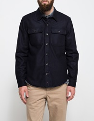 Apolis Wool Cpo In Navy
