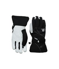 Salomon Propeller Dry W Black White Ski Gloves