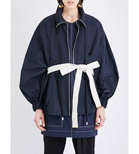 Marni Sports Shell Jacket Blublack