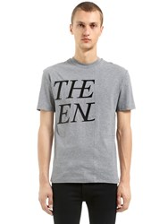 Mcq By Alexander Mcqueen The End Patchwork Cotton Jersey T Shirt