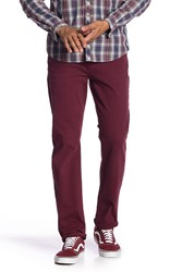 7 For All Mankind The Straight Clean Pocket Jeans Blood Rose