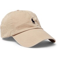 Polo Ralph Lauren Cotton Twill Baseball Cap Tan