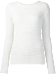 Maiyet Loose Knit Sweater White