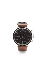 Tsovet Jpt Cc38 Leather Watch Brown