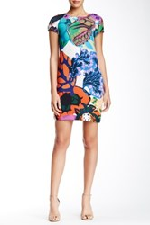 Desigual Butterfly Print Dress Multi