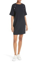 Theory Women's Athrina Admiral Crepe Shift Dress