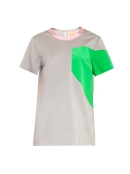 Roksanda Colour Block Jersey Top