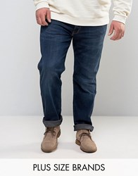 Wrangler Plus Greensboro Regular Fit Straight Leg Jean El Camino Navy
