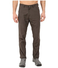 Fjall Raven High Coast Trousers Mountain Grey Men's Casual Pants Brown