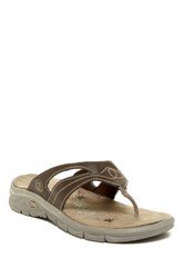 Hi Tec Soul Riderz Toe Post Sandal Brown