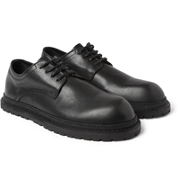 Ann Demeulemeester Rubber Soled Leather Derby Shoes