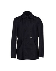 Milestone Coats And Jackets Jackets Men Dark Blue