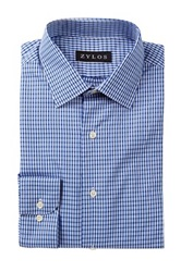 Alexander Julian Striped Long Sleeve Regular Fit Shirt Blue